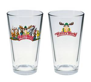 Natl Lampoons Vacation Marty Moose Pint Glass