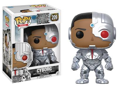 Pop Justice League Movie Cyborg Vinyl Fig