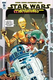 Star Wars Adventures 9 Cvr A