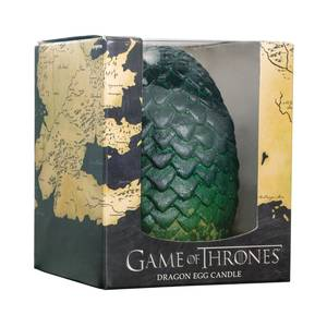 Game of Thrones Sculpted Dragon Green Egg Candle