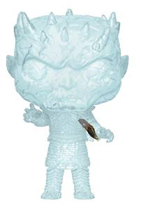 pop tv game of thrones crystal night king with dagger vinyl fig