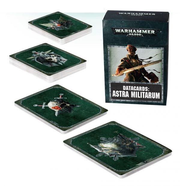 Astra Militarum Datacards