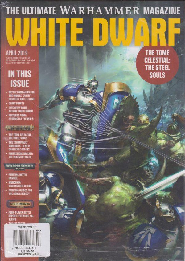 White Dwarf Magazine April